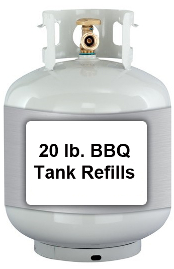 Propane Tanks Filled