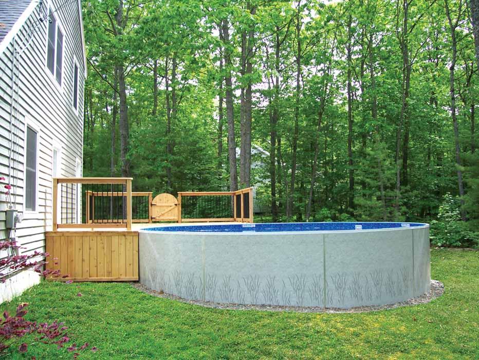 Radiant Aboveground Pools