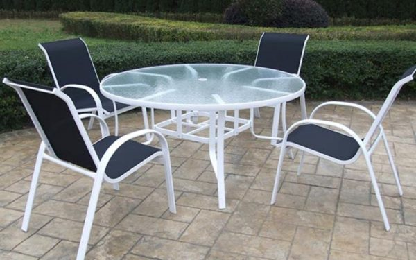 Capri Glass Tables