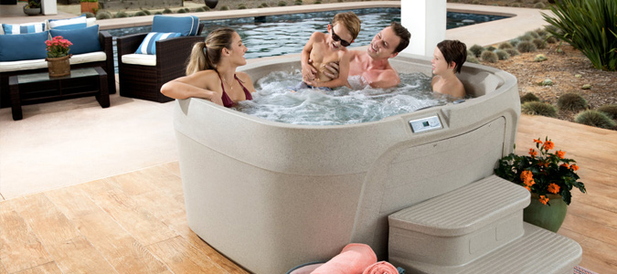 Freeflow® Spas Family Image
