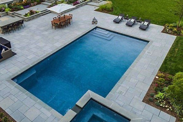 Opening Your In Ground Pool Family Image