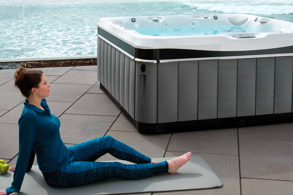 Why Buy A Hot Tub? Family Image