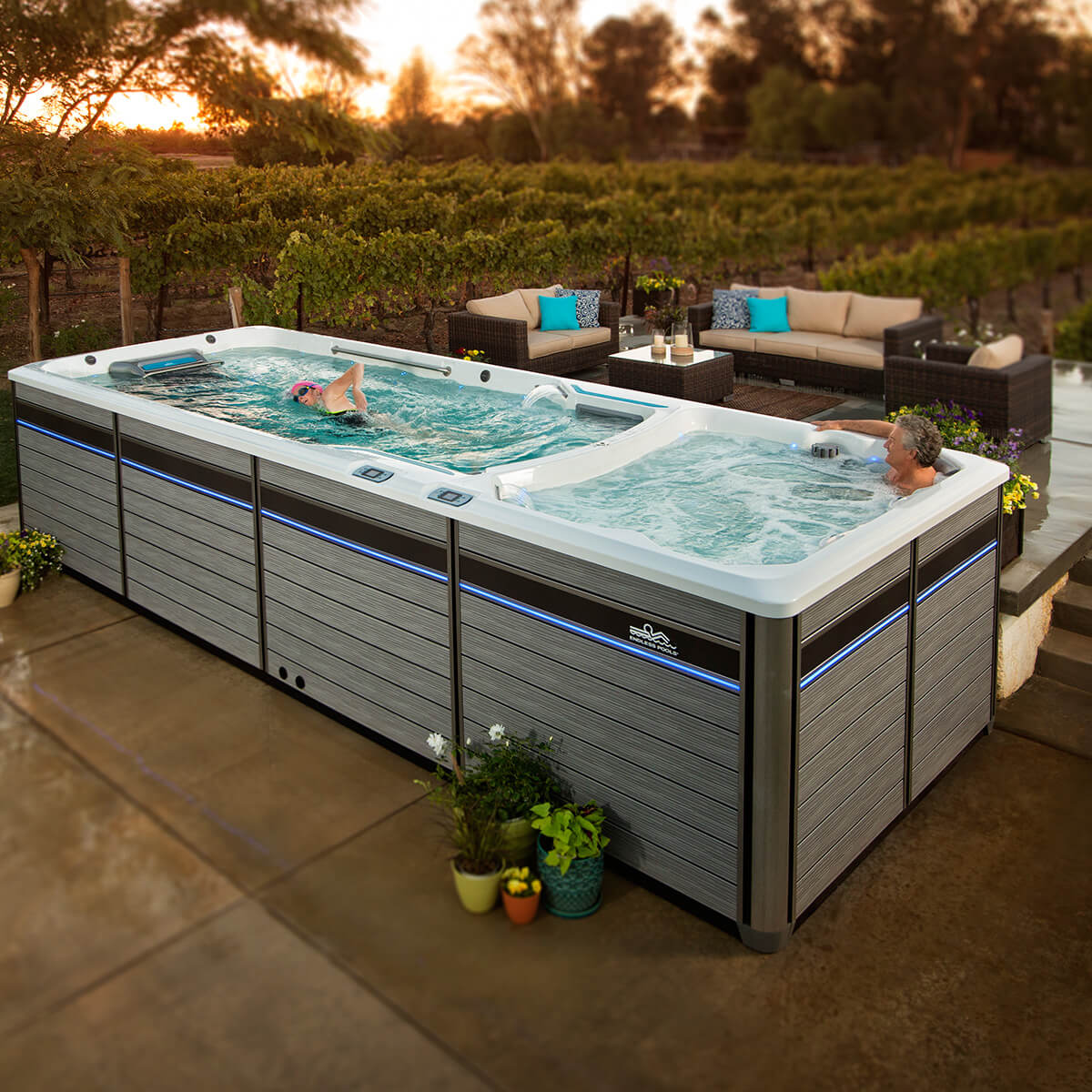 Forget the Pool. You need a Swim Spa! - Lake Air Pool Supply