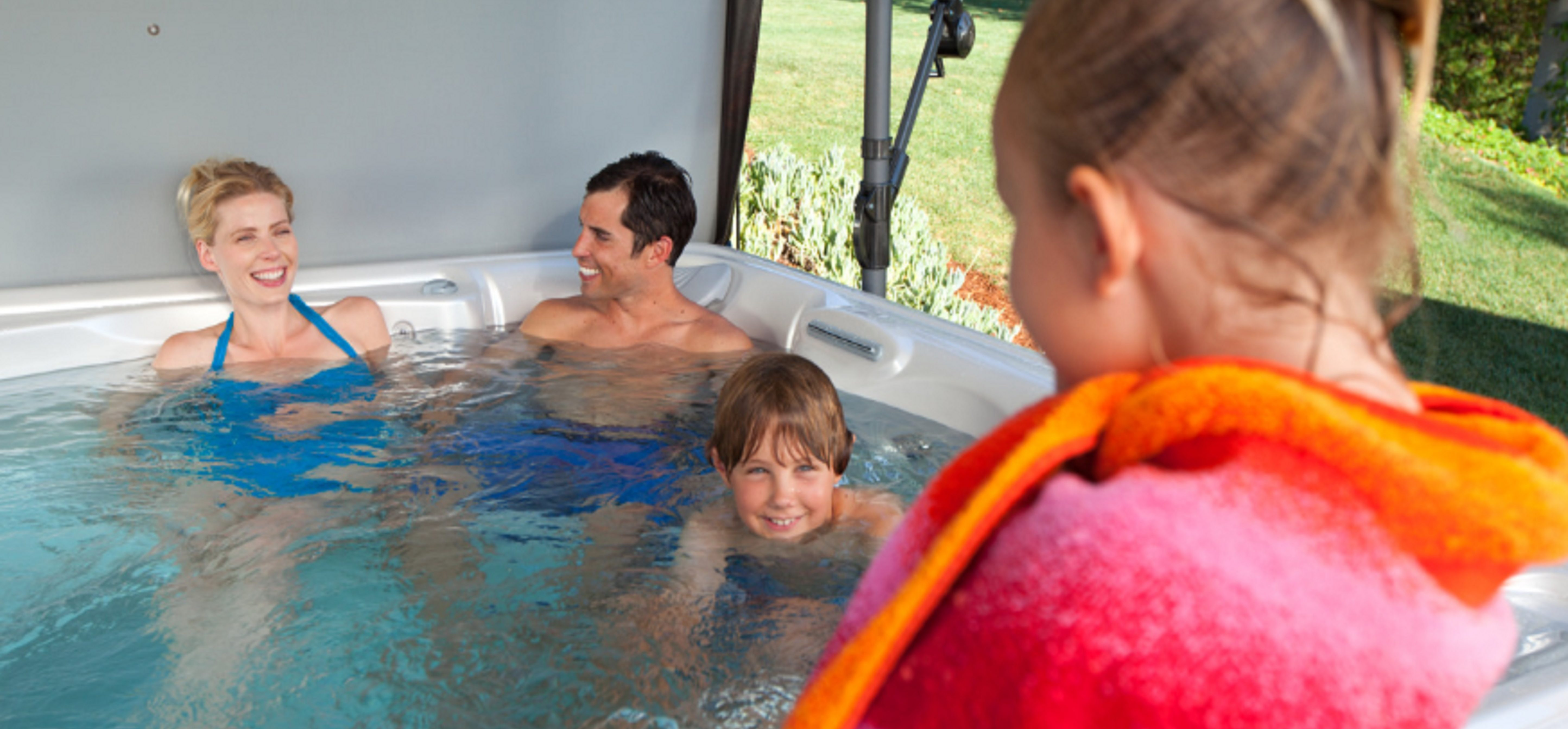 Why Hot Tubs are Great for Families with Kids