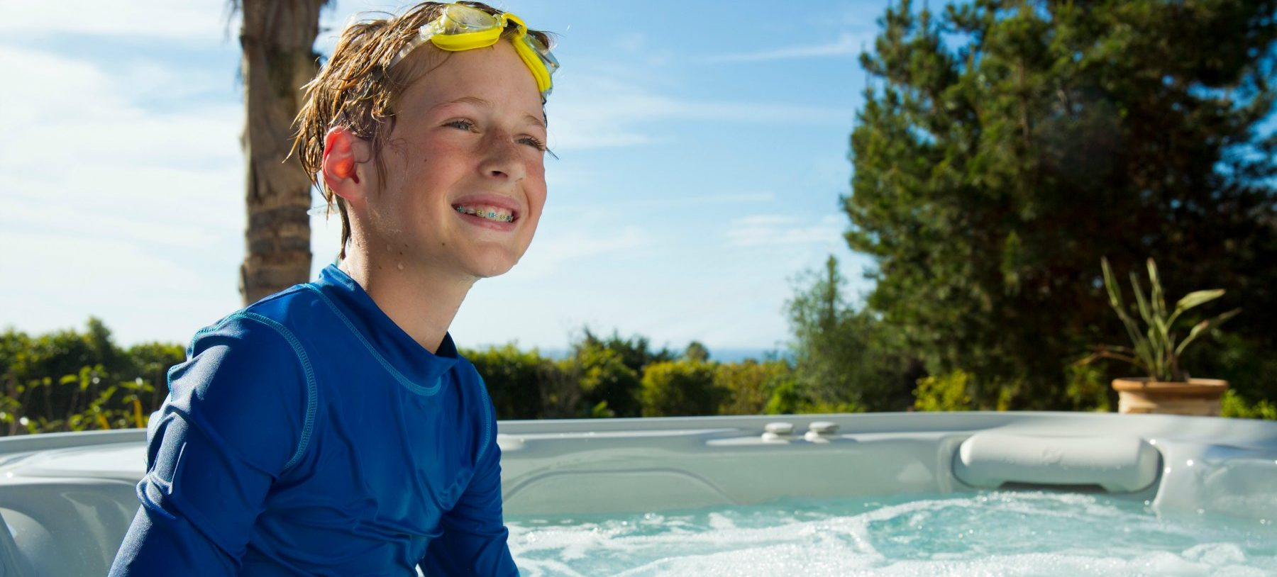 Turn Your Hot Tub Maintenance into a Kid's Science Lesson