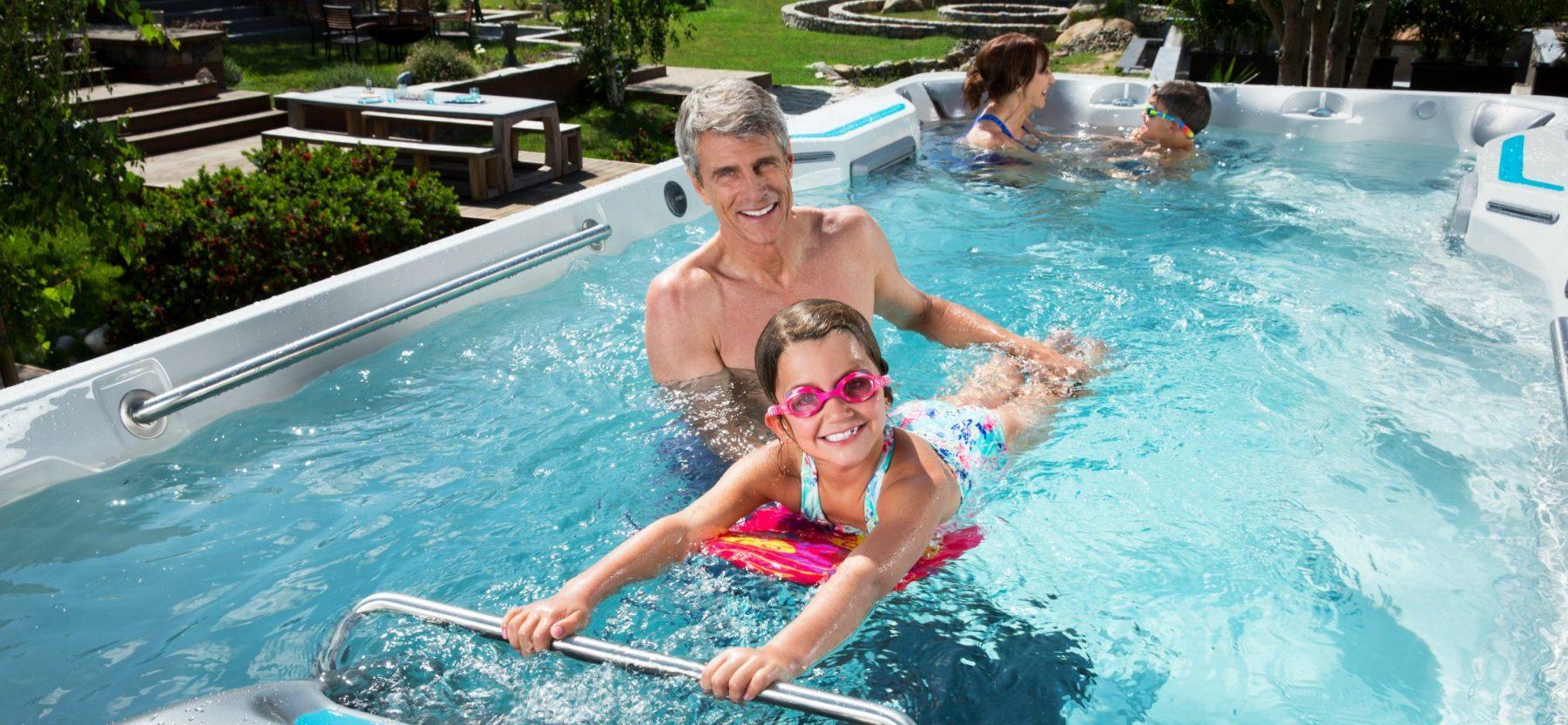 Are Endless Pools® Swim Spas Safe for Kids?