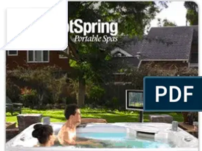 Hot Spring® Spas Owner's Manuals Family Image