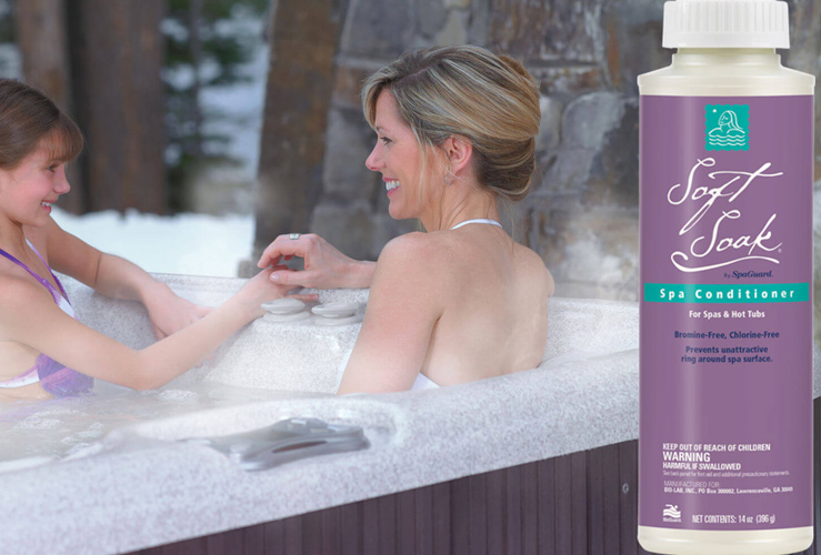 Spaguard Water Care Family Image