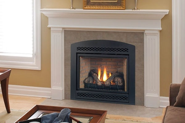 Monessen Gas Fireplaces Family Image