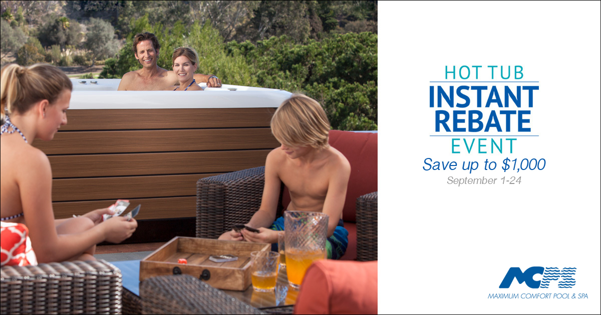 What to do with your Hot Spring Instant Rebate