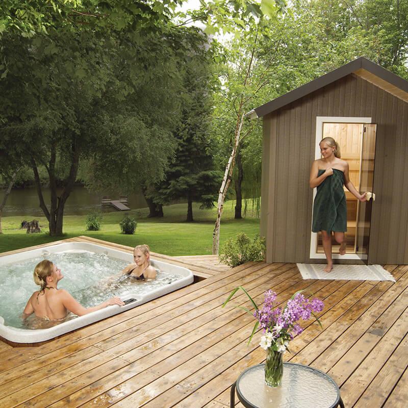 Outdoor Saunas Family Image