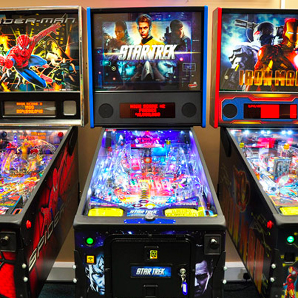Pinball Machines Family Image