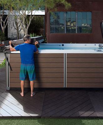 Swim Spa Accessories Family Image