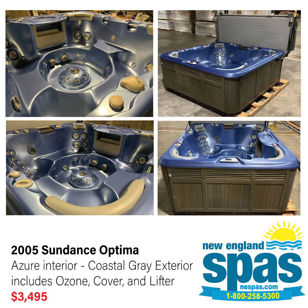 Refurbished Sundance 2005 Optima Spa