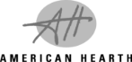 American Hearth BW Logo