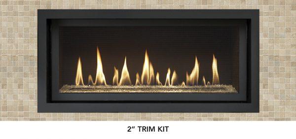 """Fireplace X   3615 2"""" Trim"""