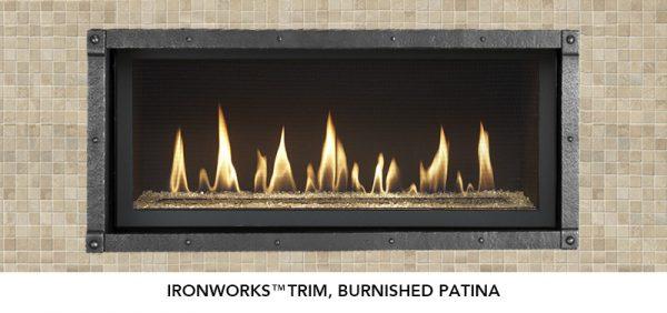 Fireplace X   3615 Ironworks™ Burnished Patina