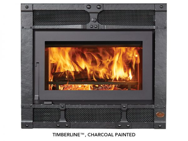 Fireplace X | 42 Apex Timberline Charcoal