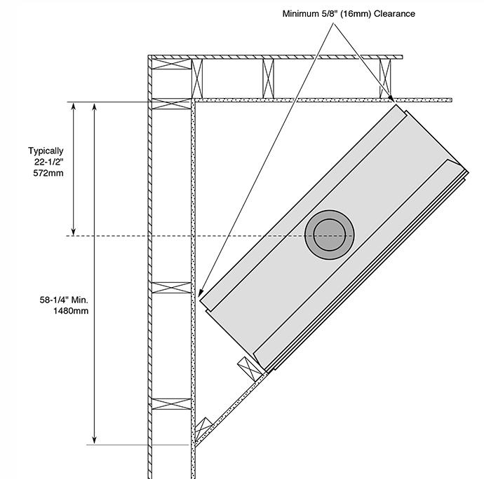 Fireplace X | 4415 HO Linear Dimensions