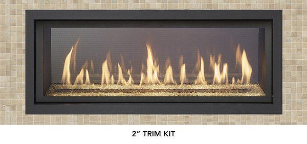 "Fireplace X | 4415 See-Thru 2"" Trim"