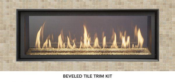 Fireplace X | 4415 See-Thru Beveled Tile Trim