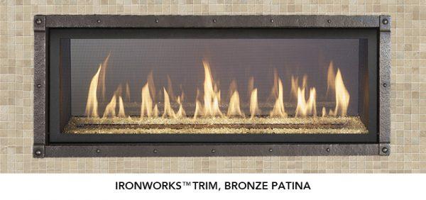 Fireplace X | 4415 See-Thru Bronze Patina