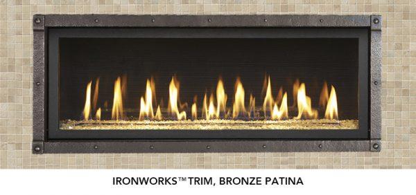 Fireplace X | 4415 HO Bronze Patina