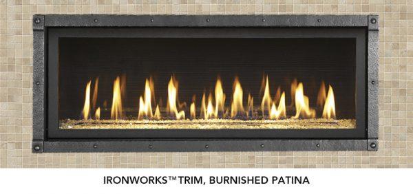 Fireplace X | 4415 HO Brushed Patina