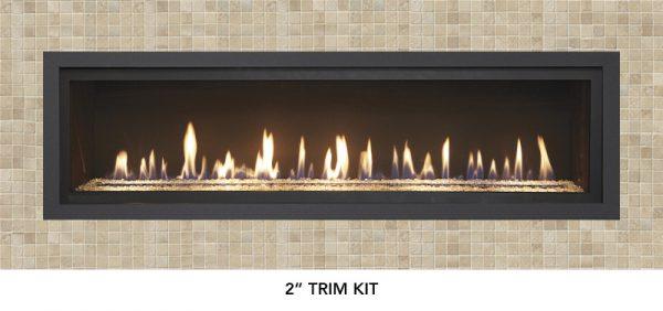 """Fireplace X   6015 HO Linear 2"""" Trim"""