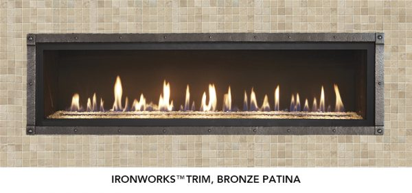 Fireplace X   6015 HO Linear Bronze Patina
