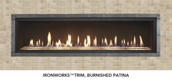 Fireplace X   6015 HO Linear Burnished Patina
