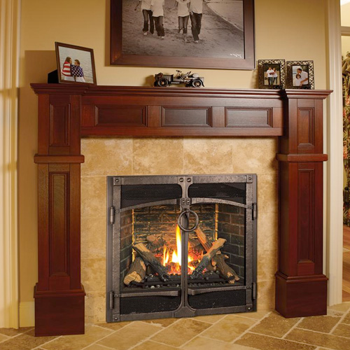 Fireplace Repair & Service Family Image