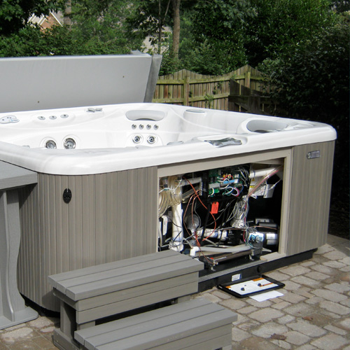 Hot Tub Repair & Service Family Image