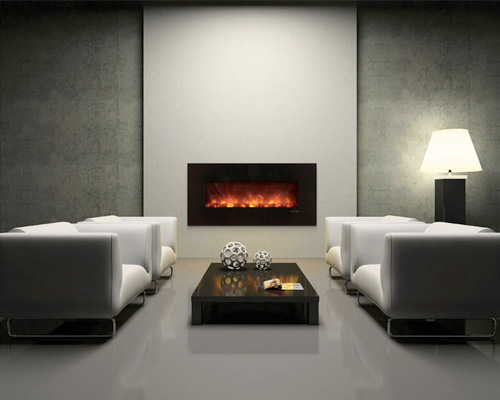 Electric Fireplaces Family Image