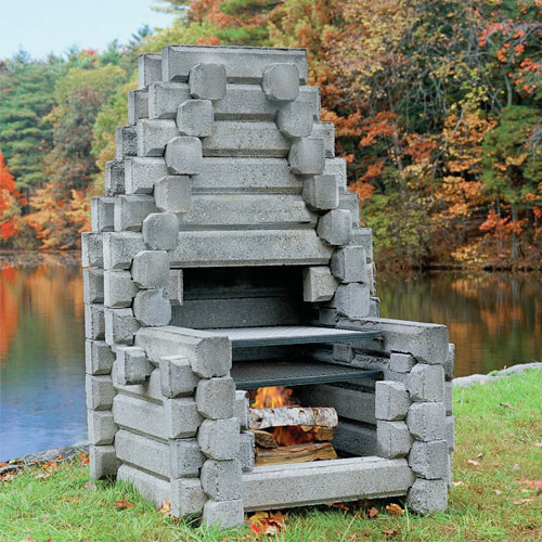 Link Log Fireplaces Family Image