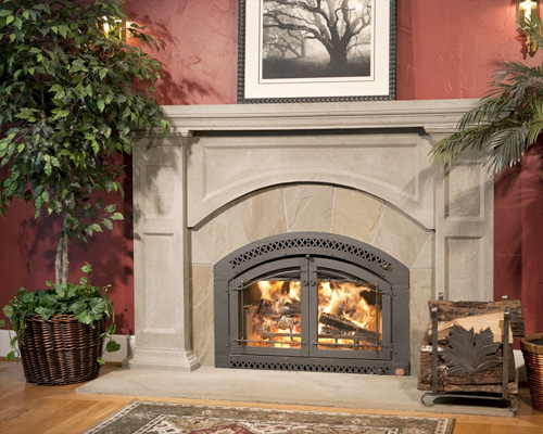 High Efficiency Wood Fireplaces (Heat-Producing) Family Image