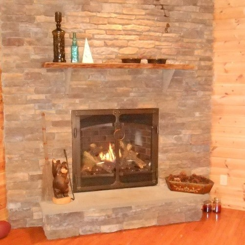 Gas Fireplaces Gallery Family Image