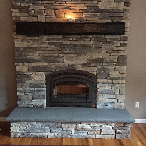 Wood Fireplaces Gallery Family Image
