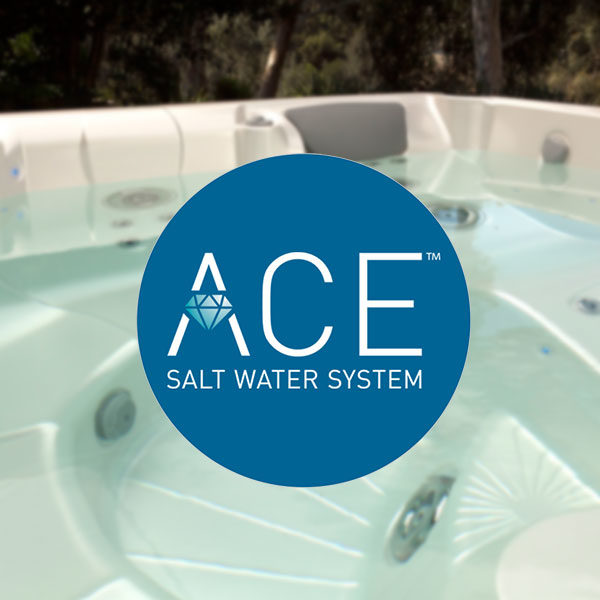 ACE salt water products at Oakwood Pool & Spa