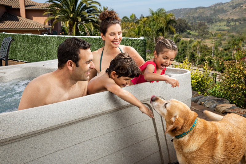 Hot Tubs are for People, Not Dogs