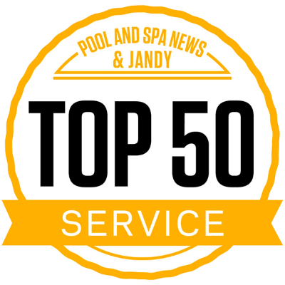 Pool and Spa News & Jandy: Top 50 Service