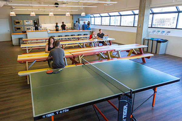 Tiger Ping Pong Tables Family Image