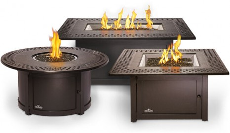 Patio Flame Tables Family Image