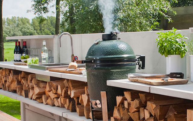 Big Green Egg Pleasure Pools Amp Spas