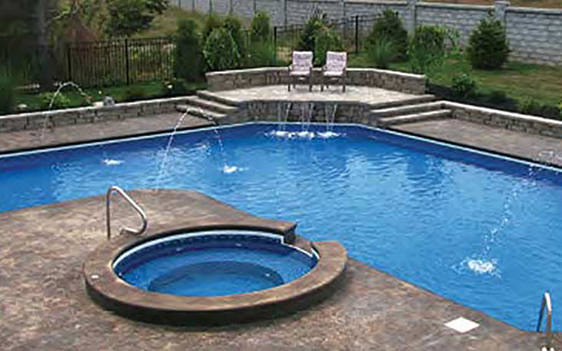 Latham Steel Pool System - Pleasure Pools & Spas