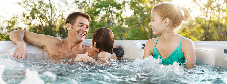 Family Fun: Connection & Conversation in the Hot Tub
