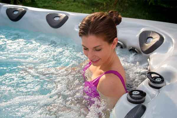 Health Benefits of a Hot Tub Family Image