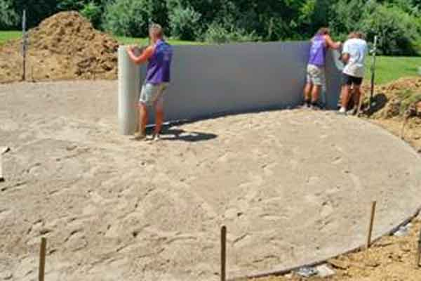 Pool Construction Family Image