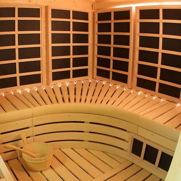 Custom Infrared Sauna Rooms The Pool Source