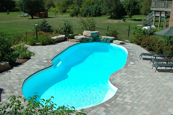 San Juan Fiberglass Pools Family Image